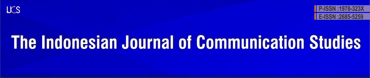 The Indonesian Journal of Communication Studies